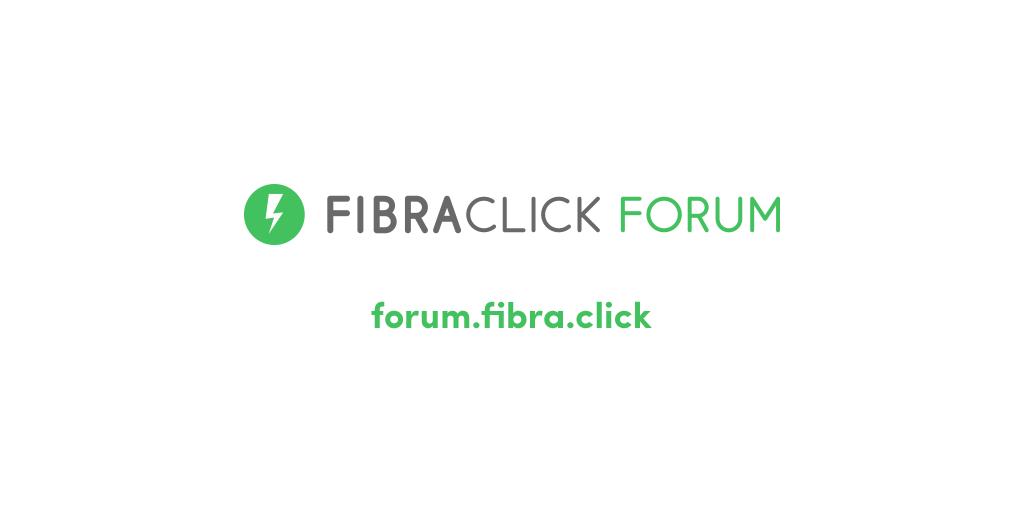 Logo FibraClick Forum